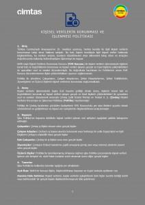 KİŞİSEL VERİLERİN KORUNMASI VE İŞLENMESİ POLİTİKASI SON_up_3_Page_1